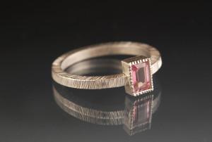 Hall_pink topaz ring