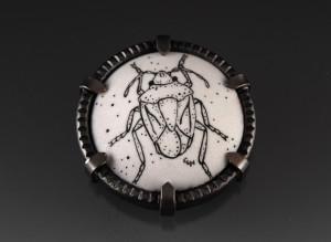 Stink Bug Brooch_2014
