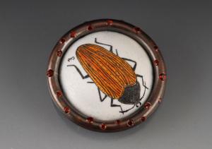 Orange Beetle Brooch_2014_small